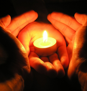 Image result for candle lighting